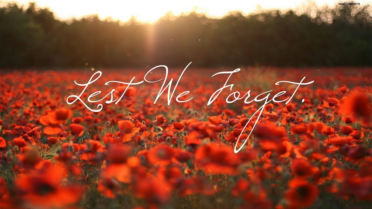Lest We Forget. | News Post Page